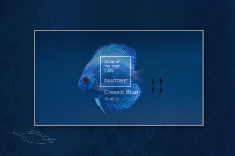 Classic Blue Pantone De Lannée 2020 Ma Plume Webmag