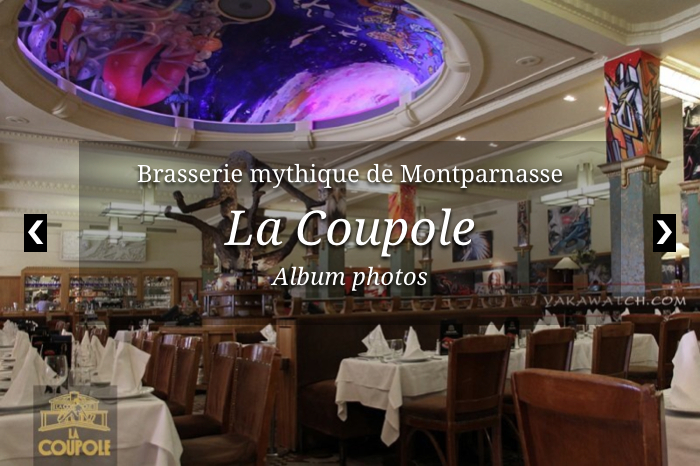 La Coupole, Paris Montparnasse