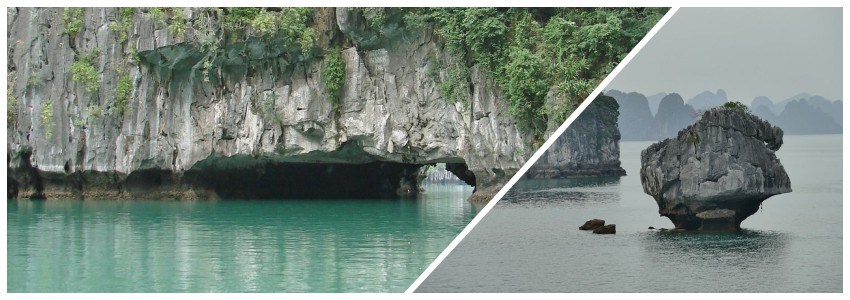 baie halong relief karstique