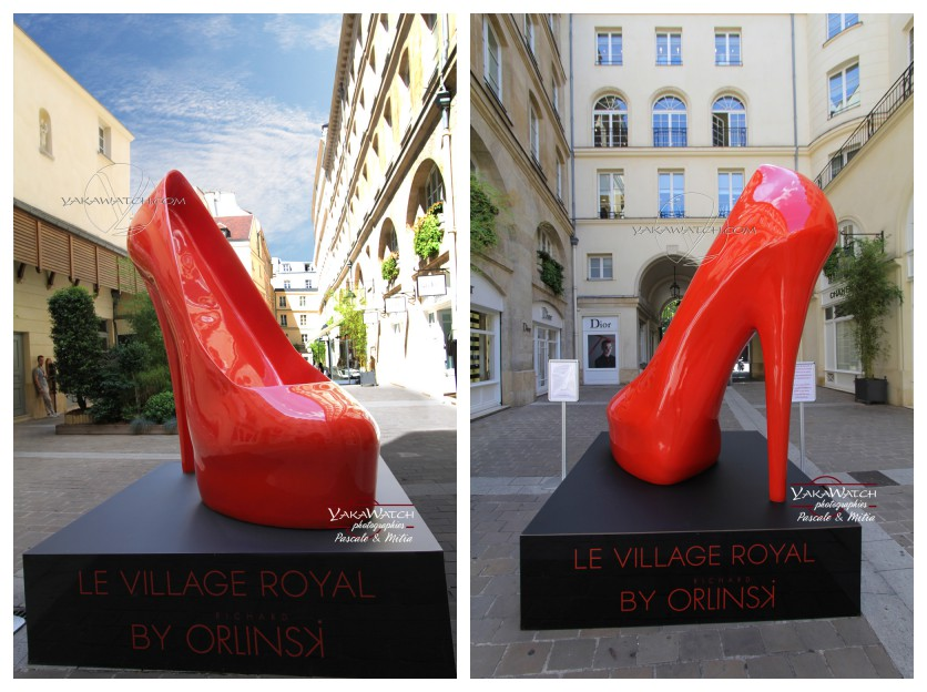 Orlinski - Stiletto au Village Royal Paris