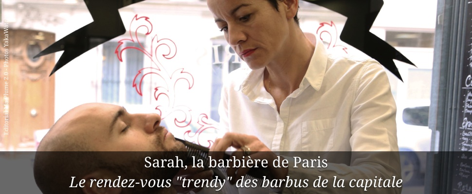 Sarah, la barbière de Paris
